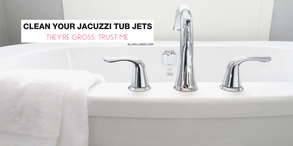 how to clean your Jacuzzi tub